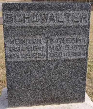 SCHOWALTER, HEINRICH - Turner County, South Dakota   HEINRICH SCHOWALTER - South Dakota Gravestone Photos