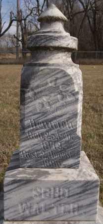 SCHOWALTER, HEINRICH - Turner County, South Dakota | HEINRICH SCHOWALTER - South Dakota Gravestone Photos