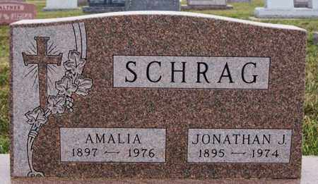 SCHRAG, AMALIA - Turner County, South Dakota | AMALIA SCHRAG - South Dakota Gravestone Photos