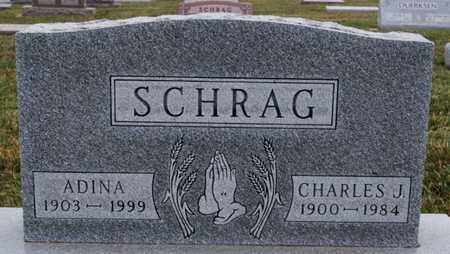 SCHRAG, CHARLES J - Turner County, South Dakota | CHARLES J SCHRAG - South Dakota Gravestone Photos