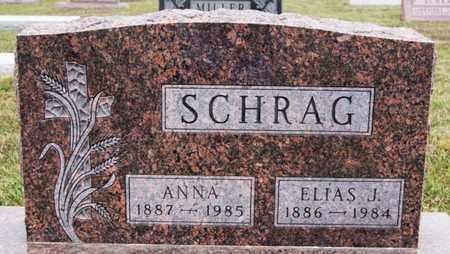 SCHRAG, ANNA - Turner County, South Dakota | ANNA SCHRAG - South Dakota Gravestone Photos
