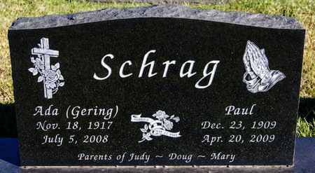 GERING SCHRAG, ADA - Turner County, South Dakota | ADA GERING SCHRAG - South Dakota Gravestone Photos