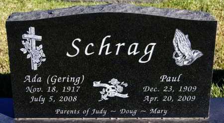 SCHRAG, ADA - Turner County, South Dakota | ADA SCHRAG - South Dakota Gravestone Photos