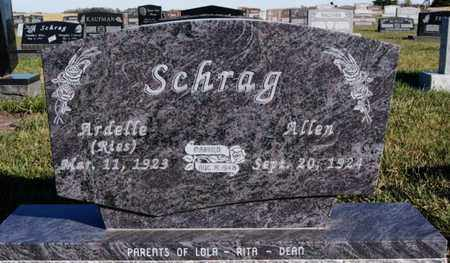 RIES SCHRAG, ARDELLE - Turner County, South Dakota | ARDELLE RIES SCHRAG - South Dakota Gravestone Photos