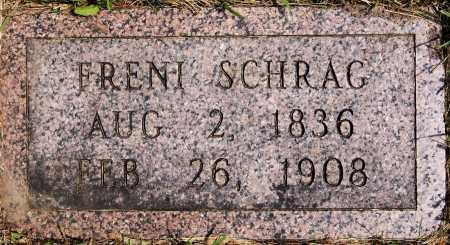 SCHRAG, FRENI - Turner County, South Dakota   FRENI SCHRAG - South Dakota Gravestone Photos
