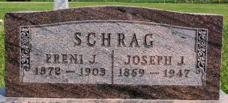 SCHRAG, FRENI J - Turner County, South Dakota   FRENI J SCHRAG - South Dakota Gravestone Photos