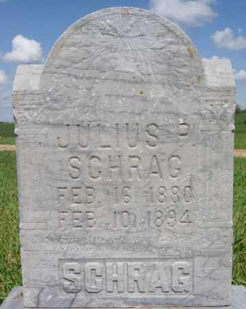 SCHRAG, JULIUS P - Turner County, South Dakota   JULIUS P SCHRAG - South Dakota Gravestone Photos