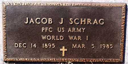 SCHRAG, JACOB J (WWI) - Turner County, South Dakota | JACOB J (WWI) SCHRAG - South Dakota Gravestone Photos