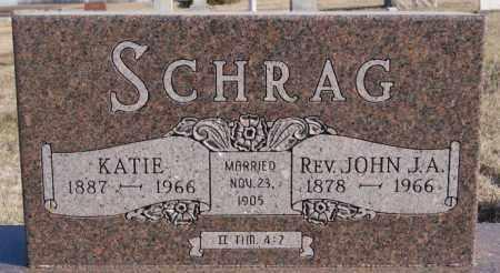 SCHRAG, JOHN J A - Turner County, South Dakota   JOHN J A SCHRAG - South Dakota Gravestone Photos