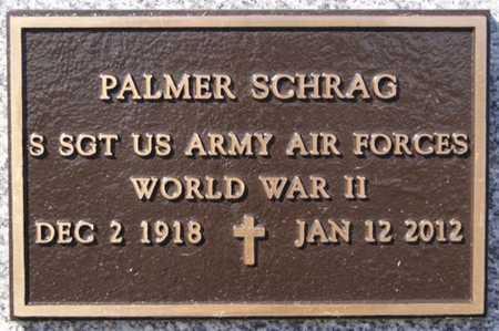SCHRAG, PALMER (WWII) - Turner County, South Dakota | PALMER (WWII) SCHRAG - South Dakota Gravestone Photos