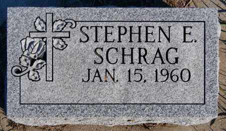 SCHRAG, STEPHEN E - Turner County, South Dakota | STEPHEN E SCHRAG - South Dakota Gravestone Photos