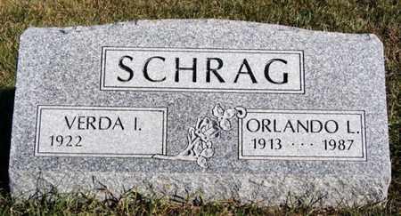 SCHRAG, VERDA I - Turner County, South Dakota | VERDA I SCHRAG - South Dakota Gravestone Photos