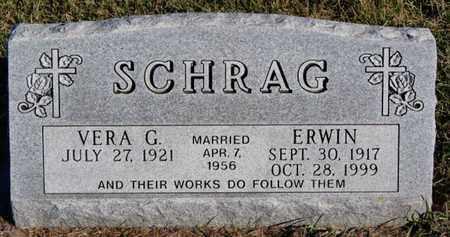SCHRAG, VERA G - Turner County, South Dakota | VERA G SCHRAG - South Dakota Gravestone Photos