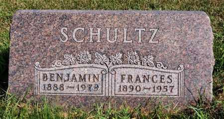 SCHULTZ, BENJAMIN - Turner County, South Dakota | BENJAMIN SCHULTZ - South Dakota Gravestone Photos