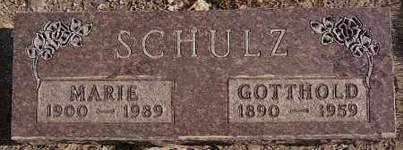 SCHULZ, GOTTHOLD - Turner County, South Dakota | GOTTHOLD SCHULZ - South Dakota Gravestone Photos