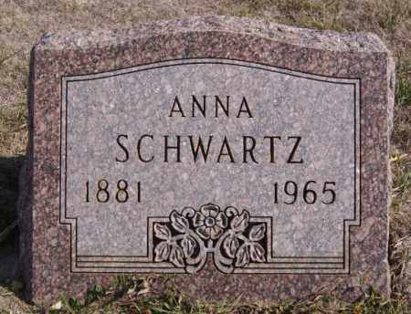 SCHWARTZ, ANNA - Turner County, South Dakota | ANNA SCHWARTZ - South Dakota Gravestone Photos