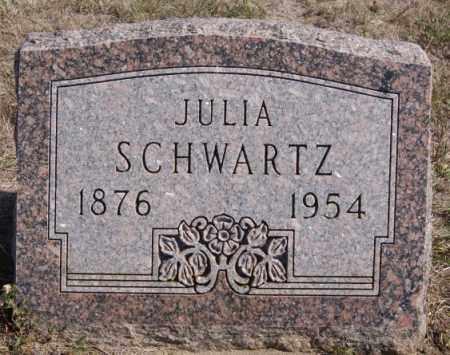 SCHWARTZ, JULIA - Turner County, South Dakota | JULIA SCHWARTZ - South Dakota Gravestone Photos