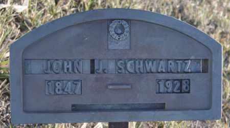 SCHWARTZ, JOHN J - Turner County, South Dakota | JOHN J SCHWARTZ - South Dakota Gravestone Photos
