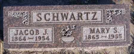 SCHWARTZ, JACOB J - Turner County, South Dakota   JACOB J SCHWARTZ - South Dakota Gravestone Photos