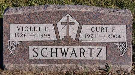 SCHWARTZ, CURT F - Turner County, South Dakota | CURT F SCHWARTZ - South Dakota Gravestone Photos