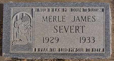 SEVERT, MERLE JAMES - Turner County, South Dakota | MERLE JAMES SEVERT - South Dakota Gravestone Photos