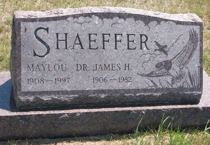 SHAEFFER, JAMES H. (DR.) - Turner County, South Dakota | JAMES H. (DR.) SHAEFFER - South Dakota Gravestone Photos