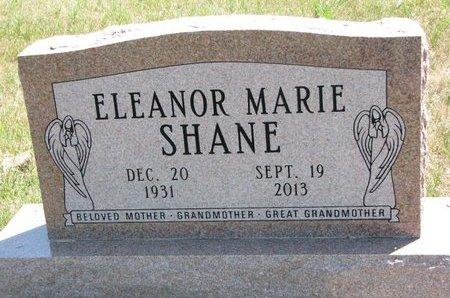 SHANE, ELEANOR MARIE - Turner County, South Dakota | ELEANOR MARIE SHANE - South Dakota Gravestone Photos