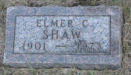 SHAW, ELMER C. - Turner County, South Dakota | ELMER C. SHAW - South Dakota Gravestone Photos