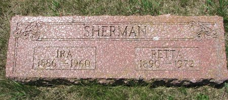 SHERMAN, IRA - Turner County, South Dakota | IRA SHERMAN - South Dakota Gravestone Photos