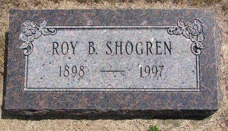 SHOGREN, ROY BERNARD - Turner County, South Dakota   ROY BERNARD SHOGREN - South Dakota Gravestone Photos