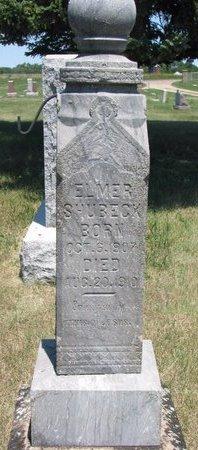 SHUBECK, ELMER - Turner County, South Dakota | ELMER SHUBECK - South Dakota Gravestone Photos
