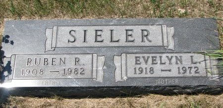 SIELER, RUBEN R. - Turner County, South Dakota | RUBEN R. SIELER - South Dakota Gravestone Photos