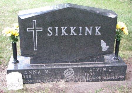 SIKKINK, ANNA M. - Turner County, South Dakota   ANNA M. SIKKINK - South Dakota Gravestone Photos