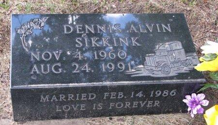 SIKKINK, DENNIS ALVIN - Turner County, South Dakota | DENNIS ALVIN SIKKINK - South Dakota Gravestone Photos