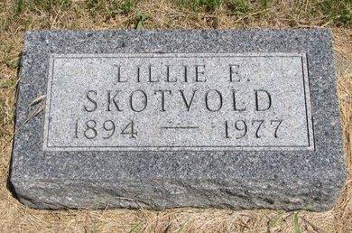 SKOTVOLD, LILLIE E. - Turner County, South Dakota   LILLIE E. SKOTVOLD - South Dakota Gravestone Photos