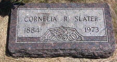 SLATER, CORNELIA R. - Turner County, South Dakota   CORNELIA R. SLATER - South Dakota Gravestone Photos