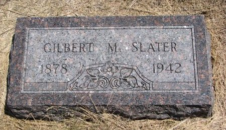 SLATER, GILBERT M. - Turner County, South Dakota | GILBERT M. SLATER - South Dakota Gravestone Photos