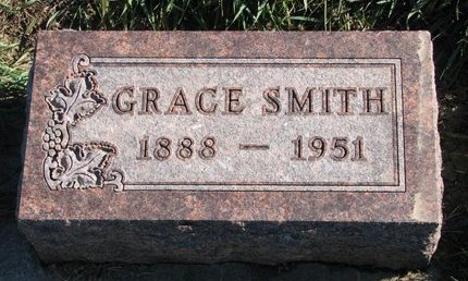 SMITH, GRACE (GRETJA) MAGGIE - Turner County, South Dakota | GRACE (GRETJA) MAGGIE SMITH - South Dakota Gravestone Photos