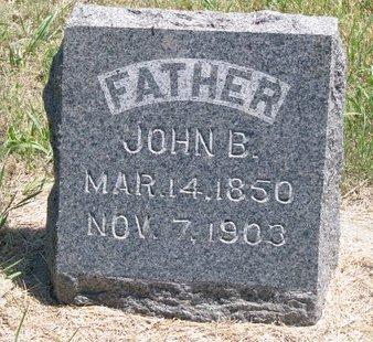 SMITH, JOHN B. - Turner County, South Dakota | JOHN B. SMITH - South Dakota Gravestone Photos