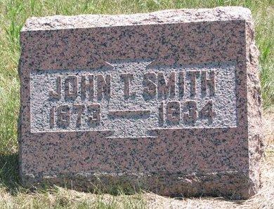 SMITH, JOHN T. - Turner County, South Dakota | JOHN T. SMITH - South Dakota Gravestone Photos