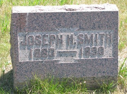 SMITH, JOSEPH H. - Turner County, South Dakota | JOSEPH H. SMITH - South Dakota Gravestone Photos