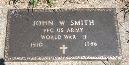 SMITH, JOHN W. - Turner County, South Dakota | JOHN W. SMITH - South Dakota Gravestone Photos