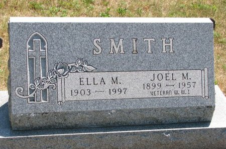 SMITH, JOEL MAXWELL - Turner County, South Dakota | JOEL MAXWELL SMITH - South Dakota Gravestone Photos