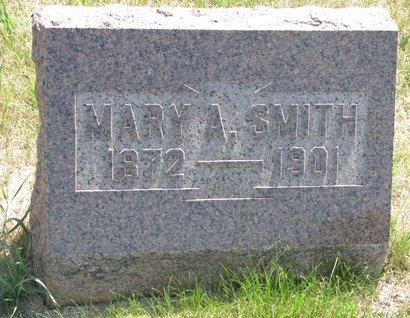 SMITH, MARY A. - Turner County, South Dakota | MARY A. SMITH - South Dakota Gravestone Photos