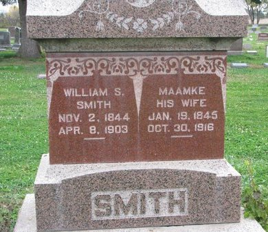 SMITH, WILLIAM S. - Turner County, South Dakota   WILLIAM S. SMITH - South Dakota Gravestone Photos