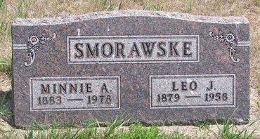 SMORAWSKE, MINNIE A. - Turner County, South Dakota   MINNIE A. SMORAWSKE - South Dakota Gravestone Photos