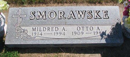 SMORAWSKE, OTTO A. - Turner County, South Dakota | OTTO A. SMORAWSKE - South Dakota Gravestone Photos
