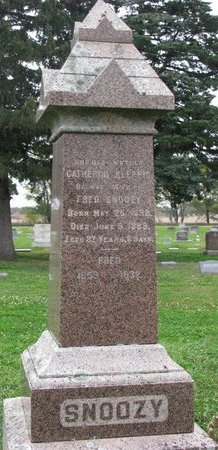 KLEPPE SNOOZY, CATHERINE - Turner County, South Dakota | CATHERINE KLEPPE SNOOZY - South Dakota Gravestone Photos