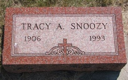 SNOOZY, TRACY A. - Turner County, South Dakota | TRACY A. SNOOZY - South Dakota Gravestone Photos