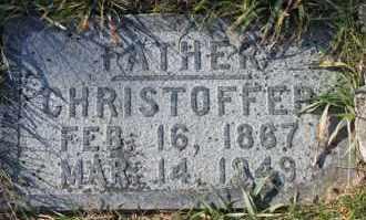 SORENSEN, CHRISTOFFER - Turner County, South Dakota   CHRISTOFFER SORENSEN - South Dakota Gravestone Photos
